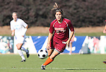 09 November 2008: Virginia Tech's Stephanie Hylton. The University of North Carolina Tarheels defeated the Virginia Tech University Hokies 3-0 at WakeMed Stadium at WakeMed Soccer Park in Cary, NC in the women's ACC tournament championship game.