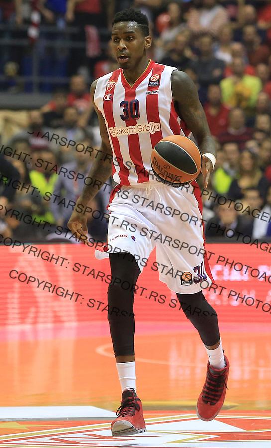 Kosarka Euroleague season 2015-2016<br /> Euroleague <br /> Crvena Zvezda v Real Madrid<br /> Quincy Miller<br /> Beograd, 27.11.2015.<br /> foto: Srdjan Stevanovic/Starsportphoto &copy;
