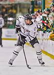 17 October 2015: University of Nebraska Omaha Maverick Forward Avery Peterson, a Sophomore from Grand Rapids, MN, in first period action against the University of Vermont Catamounts at Gutterson Fieldhouse in Burlington, Vermont. The Mavericks defeated the Catamounts 3-1 in the second game of their weekend series. Mandatory Credit: Ed Wolfstein Photo *** RAW (NEF) Image File Available ***