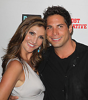 Heather McDonald, Joe Francis.Bravo's Andy Cohen's Book Release Party For &quot;Most Talkative: Stories From The Front Lines Of Pop Held at SUR Lounge, West Hollywood, California, USA..May 14th, 2012.half length grey gray black jacket dress .CAP/ADM/KB.&copy;Kevan Brooks/AdMedia/Capital Pictures.