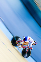 Picture by Charlie Forgham-Bailey/SWpix.com - 06/03/2016 - Cycling - 2016 UCI Track Cycling World Championships, Day 5 - Lee Valley VeloPark, London, England - Mei Yu Hsiao of Taipei in the Women's Omnium 500m TT