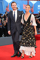 Michael Fassbender and Alicia Vikander attend the premiere of 'The Light Between Oceans' during the 73rd Venice Film Festival at Sala Grande on September 1, 2016 in Venice, Italy.<br /> CAP/GOL<br /> &copy;GOL/Capital Pictures /MediaPunch ***NORTH AND SOUTH AMERICAS ONLY***