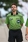 05 September 2015: Fourth Official Jeremy L.B. Smith. The Duke University Blue Devils hosted the Iona University Gaels at Koskinen Stadium in Durham, NC in a 2015 NCAA Division I Men's Soccer match. Duke won the game 2-1.