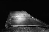 July 19th 1969, Chappaquiddick, Edgartown, Martha's Vineyard, Massachusetts, <br /> The Dike wooden bridge on Poucha Pond on Chappaquiddick Island in 1969 where aide Mary Jo Kopechne was killed in an car accident when Senator Edward Kennedy was driving.