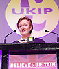 UKIP 2015 Spring Conference<br /> Winter Gardens, Margate, Great Britain <br /> 27th February 2015 <br /> <br /> <br /> Suzanne Evans<br /> deputy chairman and PPC for Shrewsbury &amp; Atcham <br /> Believe in Britain: UKIP's 2015 Manifesto <br /> <br /> <br /> <br /> Photograph by Elliott Franks <br /> Image licensed to Elliott Franks Photography Services