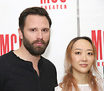 Quincy Dunn-Baker and Sue Jean Kim attend 'The End Of Longing' cast photocall at Roundabout Rehearsal Studio on April 20, 2017 in New York City.