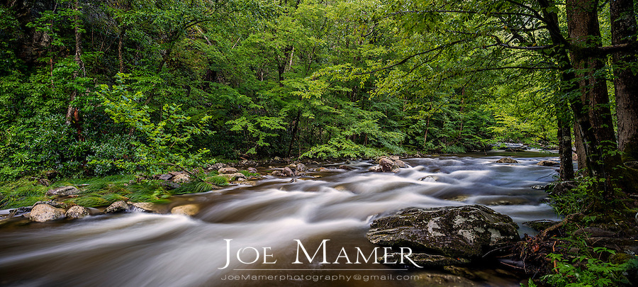 Middle Prong Little River in the Tremont area of the Great Smoky Mountains.