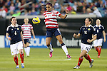 09 February 2012: Sydney Leroux (USA) (14). The United States Women's National Team defeated the Scotland Women's National Team 4-1 at EverBank Field in Jacksonville, Florida in a women's international friendly soccer match.