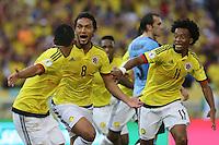Colombia - Uruguay hacia Mundial 2018
