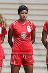 01 September 2013: New Mexico's Savannah Viola. The Duke University Blue Devils played the University of New Mexico Lobos at Fetzer Field in Chapel Hill, NC in a 2013 NCAA Division I Women's Soccer match. Duke won the game 1-0.
