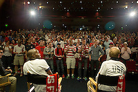 Seattle, Washington - Monday, June 10, 2013: Rally for the USMNT Panama WC qualifying match.