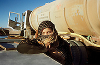 The Saharawi refugee camp  Smara..Sahrawi woman.January 2008