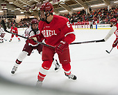 Lewis Zerter-Gossage (Harvard - 77), Holden Anderson (Cornell - 6) - The Harvard University Crimson defeated the visiting Cornell University Big Red on Saturday, November 5, 2016, at the Bright-Landry Hockey Center in Boston, Massachusetts.