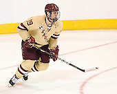 Chris Kreider (BC - 19) - The Boston College Eagles defeated the Air Force Academy Falcons 2-0 in their NCAA Northeast Regional semi-final matchup on Saturday, March 24, 2012, at the DCU Center in Worcester, Massachusetts.