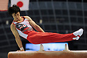 Kohei Uchimura (JPN),JULY 3rd, 2011 - Artistic Gymnastics :Japan Cup 2011 Men's Individual All-Around at Tokyo Metropolitan Gymnasium in Tokyo, Japan. (Photo by AZUL/AFLO)