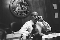 Cory Booker, Mayor of Newark, NJ