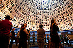 Day 6 - The Hall of Names in Yad Vashem Holocaust Memorial in Jerusalem (Photo by Brian Garfinkel)
