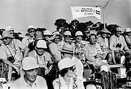 Cape Kennedy, Florida, July 16th, 1969 Delegation from France waiting to watch the departure of Apollo XI