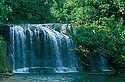 Guam, Micronesia: Talofofo Falls, a popular swimming &amp; picnicking spot.