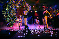 Switzerland. Geneva. Extasia 05 is the first erotic and sex fair. Sexy underwears from the fashion show Clara M.  © 2005 Didier Ruef