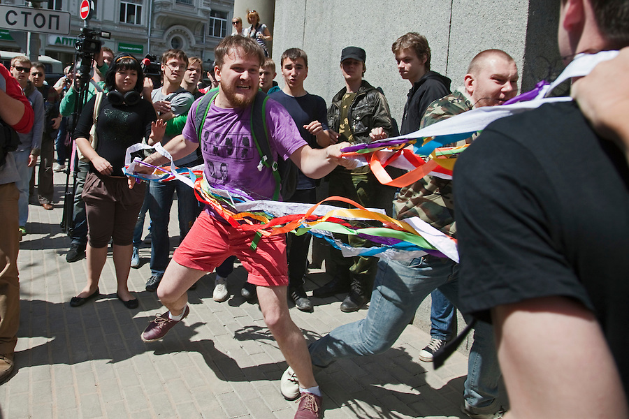 Russian gay pride parade