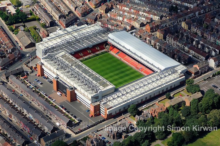 Stadium Aerial View Aerial View of Anfield Park