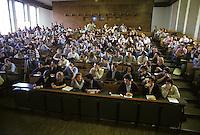 Milano: Universit&agrave; Bocconi. Studenti in aula durante una lezione.<br /> Milan: Bocconi University. Students in a classroom during a lesson.