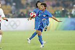 21 August 2008: Shinobu Ohno (JPN). Germany's Women's National Team defeated Japan's Women's National Team 2-0 at the Worker's Stadium in Beijing, China in the Bronze Medal match in the Women's Olympic Football tournament.