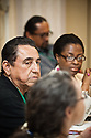 "Participants in discussion at the ""Revitalizing the Rural Economy through Infrastructure Development"" breakout session on the second day of the National Rural Assembly in St. Paul, MN."