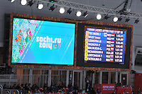 OLYMPICS: SOCHI: Adler Arena, 16-02-2014, Ladies' 1500m, results, ©photo Martin de Jong