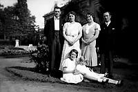 A family portrait in 1938 (Belgium, 1938)