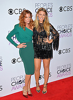 Blake Lively &amp; Robyn Lively at the 2017 People's Choice Awards at The Microsoft Theatre, L.A. Live, Los Angeles, USA 18th January  2017<br /> Picture: Paul Smith/Featureflash/SilverHub 0208 004 5359 sales@silverhubmedia.com