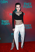 NEW YORK, NY - APRIL 19: Bella Thorne at The 2017 Freeform Upfront in New York City on April 19, 2017. <br /> CAP/MPI/DIE<br /> &copy;DIE/MPI/Capital Pictures