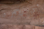 4 Faces, Canyonlands National Park Utah. A playful colorful panel.
