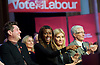 Ed Miliband <br /> Leader of the Labour Party <br /> Campaign Event at The Royal Horticultural Halls, 80 Vincent Square, London, SW1P 2PE<br /> 2nd May 2015 <br /> <br /> Ed Miliband MP <br /> Labour Leader <br /> General Election Campaign 2015 <br /> Mathew Horne <br /> June Sarpong <br /> Michelle Collins <br /> Paul O'Grady <br /> <br /> Photograph by Elliott Franks <br /> Image licensed to Elliott Franks Photography Services
