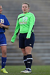 14 November 2014: South Dakota State's Nicole Inskeep. The University of North Carolina Tar Heels hosted the South Dakota State University Jackrabbits at Fetzer Field in Chapel Hill, NC in a 2014 NCAA Division I Women's Soccer Tournament First Round match. UNC won the game 2-0.