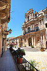 Baroque church of St John's Sicili, Sicily