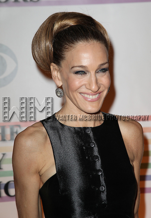 Sarah Jessica Parker.arriving for the 34th Kennedy Center Honors Presentation at Kennedy Center in Washington, D.C. on December 4, 2011