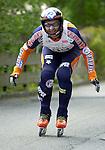 1. Inline Downhill Weltmeisterschaft, Zell am See (Austria) Sieger (Gold): Oskar Galliazzo (Italy)