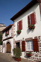 Main Street, St Jean Pied de Port, Basque Country, Pyrenees-Atlantiques, Aquitaine, France