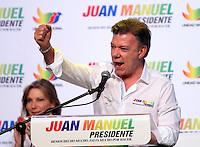 Juan Manuel Santos presento su imagen de campaña presidencial 12-03-2014