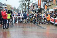 WIELRENNEN: SURHUISTERVEEN: 02-01-2016, Centrumcross, ©foto Martin de Jong