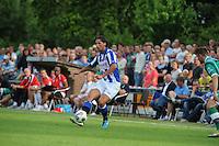 VOETBAL: DE KNIPE: 16-07-2013, Oefenwedstrijd SC Heerenveen - Leuven, Einduitslag 2-1, Mitchell Dijks, ©foto Martin de Jong