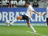 FUSSBALL   1. BUNDESLIGA  SAISON 2011/2012   4. Spieltag 1. FC Kaiserslautern - FC Bayern Muenchen         27.08.2011 TOR zum 0:2 Mario Gomez (FC Bayern Muenchen)