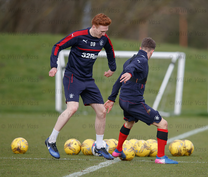 David Bates and Myles Beerman