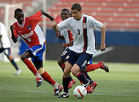 .USA U-20 vs Haiti, Frisco, Texas, Wednesday, March 28, 2007..USA 2, Haiti 1.