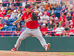 7 March 2015: St. Louis Cardinals pitcher Trevor Rosenthal on the mound during a Spring Training game against the Washington Nationals at Space Coast Stadium in Viera, Florida. The Cardinals fell to the Nationals 6-5 in Grapefruit League play. Mandatory Credit: Ed Wolfstein Photo *** RAW (NEF) Image File Available ***