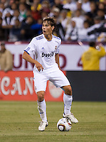 Sergio Canales controls the ball. Real Madrid defeated Club America 3-2 at Candlestick Park in San Francisco, California on August 4th, 2010.