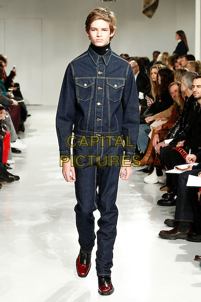 CALVIN KLEIN<br /> New York Fashion Week FW 17 18<br /> in New York, USA February 10, 2017.<br /> CAP/GOL<br /> &copy;GOL/Capital Pictures