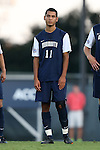 30 August 2013: Monmouth's Jacob Rubinstein. The University of North Carolina Tar Heels hosted the Monmouth University Hawks at Fetzer Field in Chapel Hill, NC in a 2013 NCAA Division I Men's Soccer match. UNC won the game 1-0 in two overtimes.